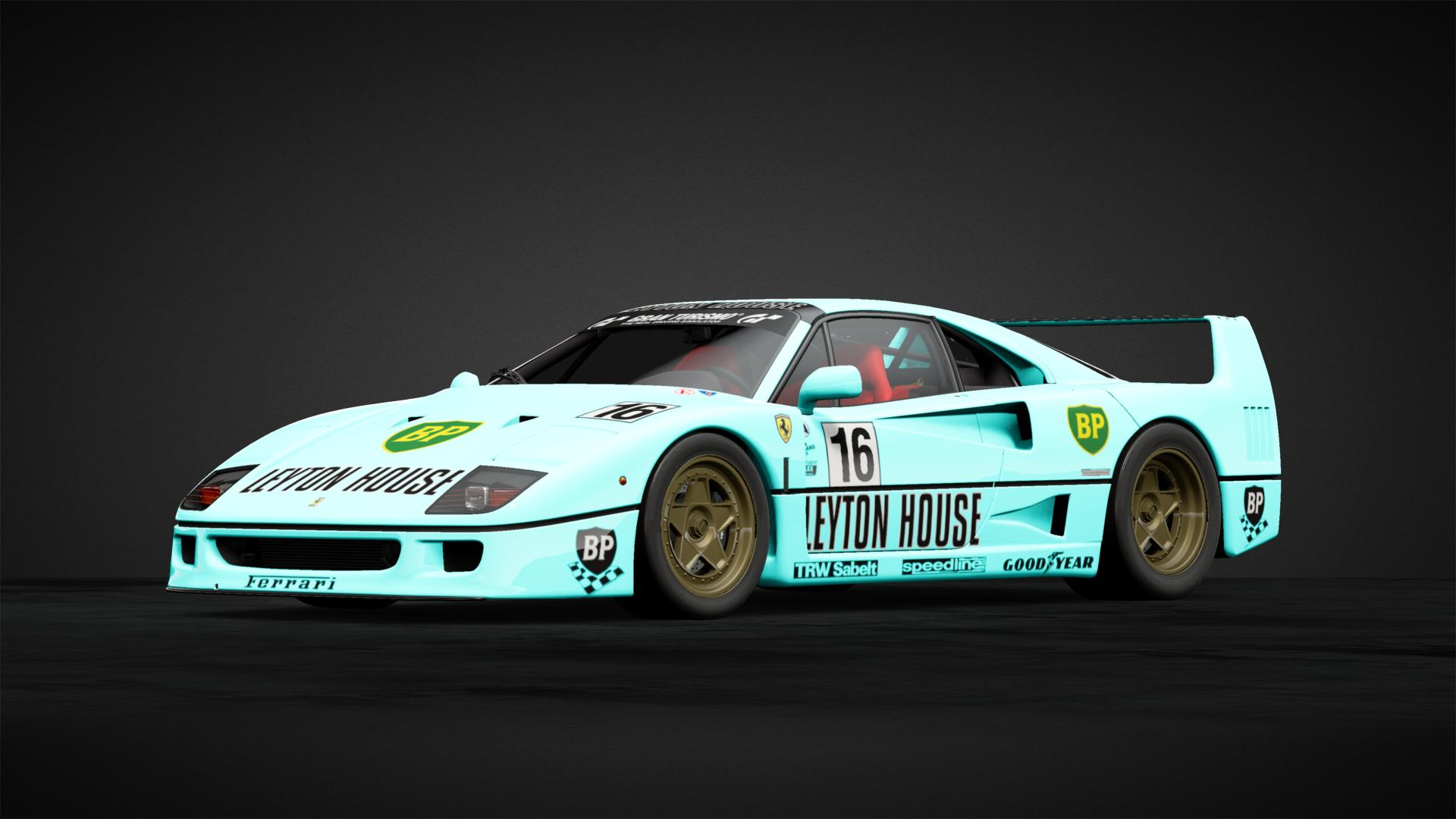 LEYTON HOUSE Ferrari F40 tribut , Car Livery by xCOLOMB1ANx