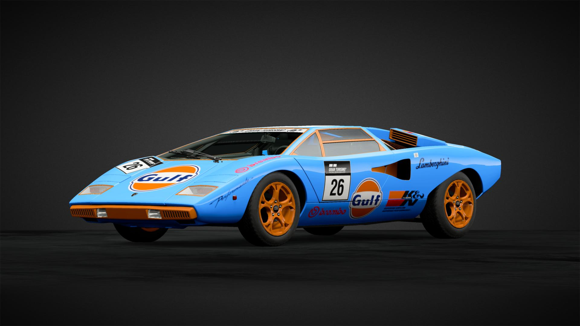 Lamborghini Countach Race Car Car Livery By Killerbiscuit