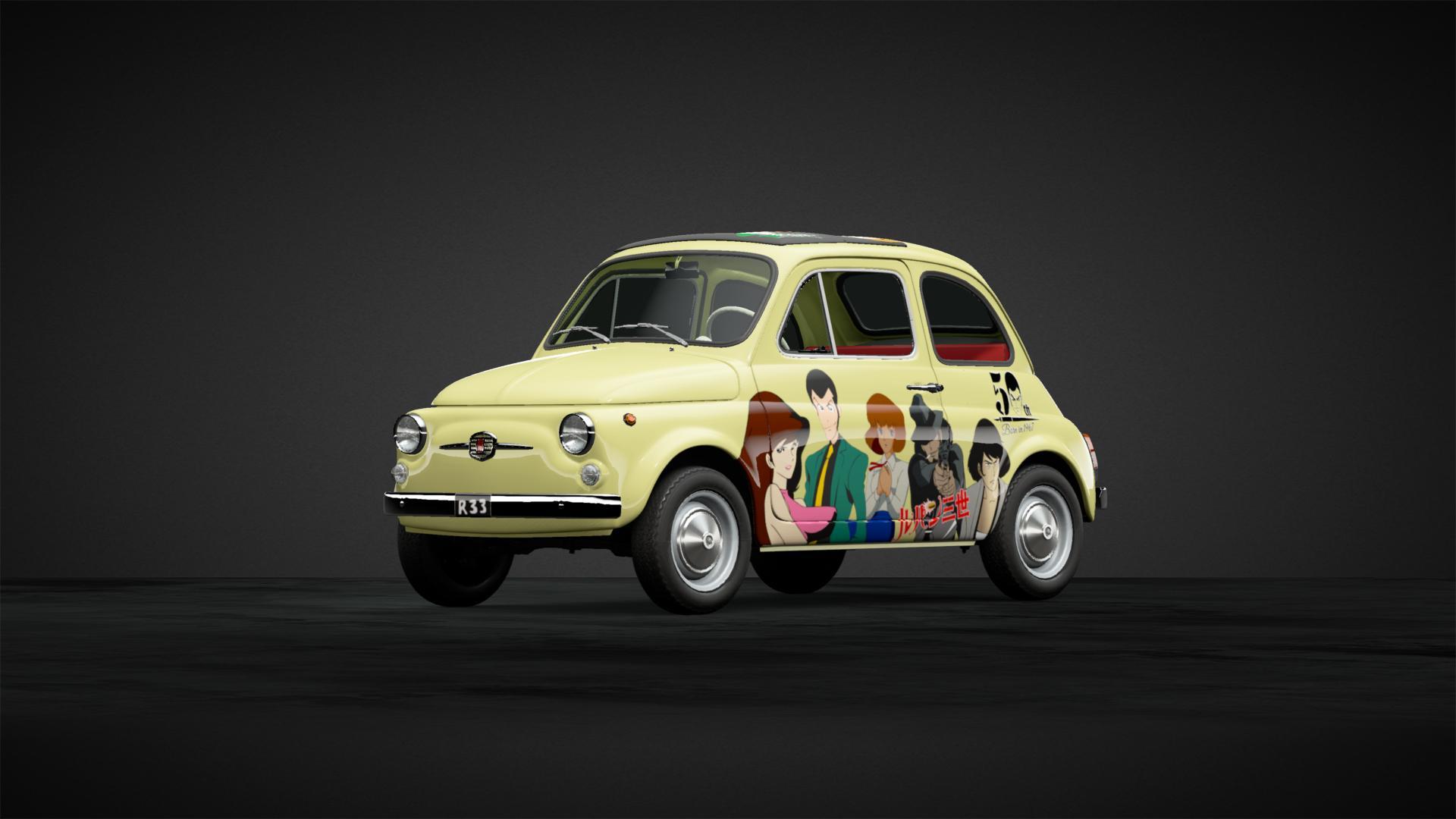 ルパン三世 カリオストロの城バージョンbyルーフin銭形 ルパン Car