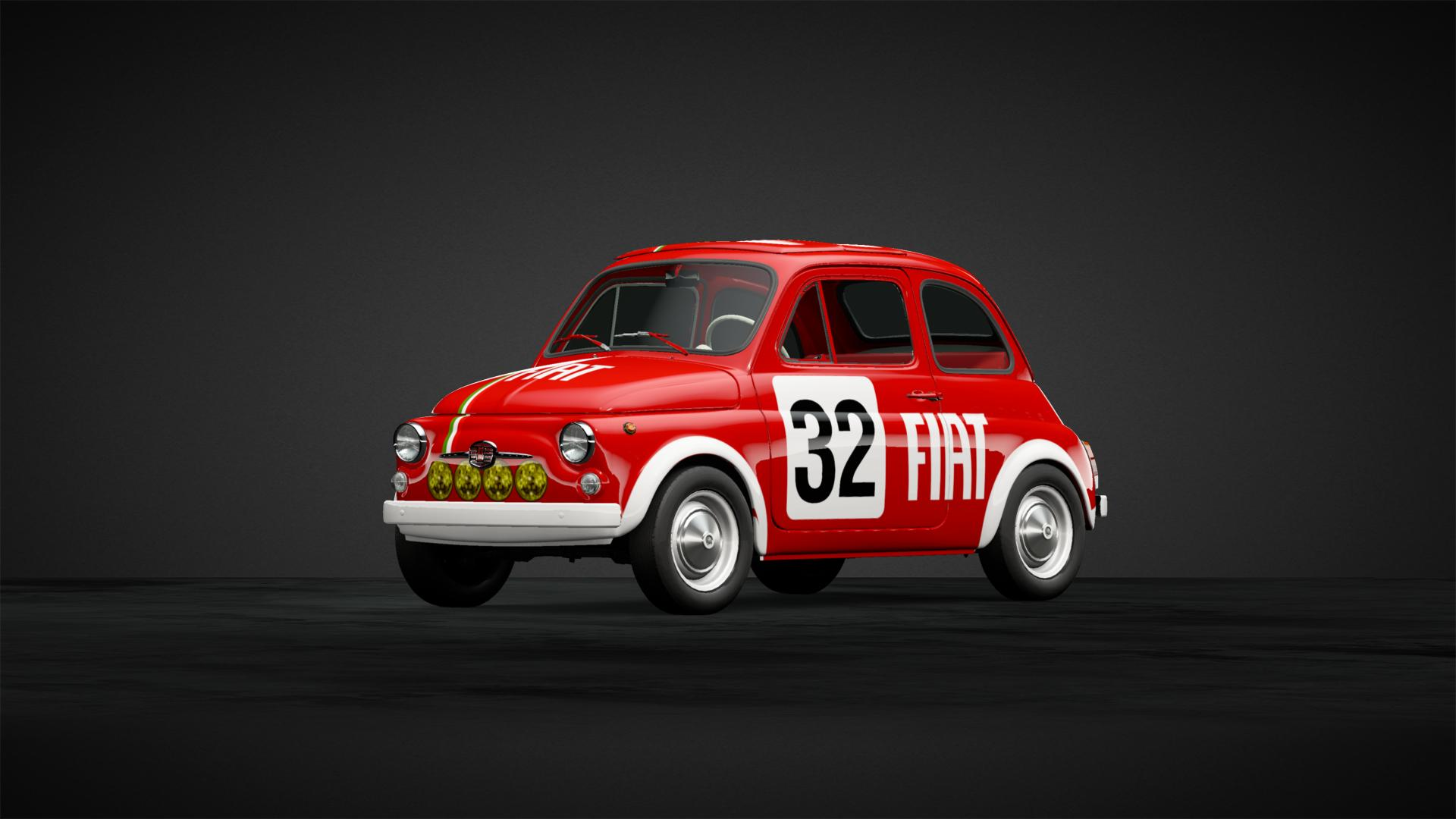 Fiat 500 F Rally Car 68 Car Livery By Julien Fra Community