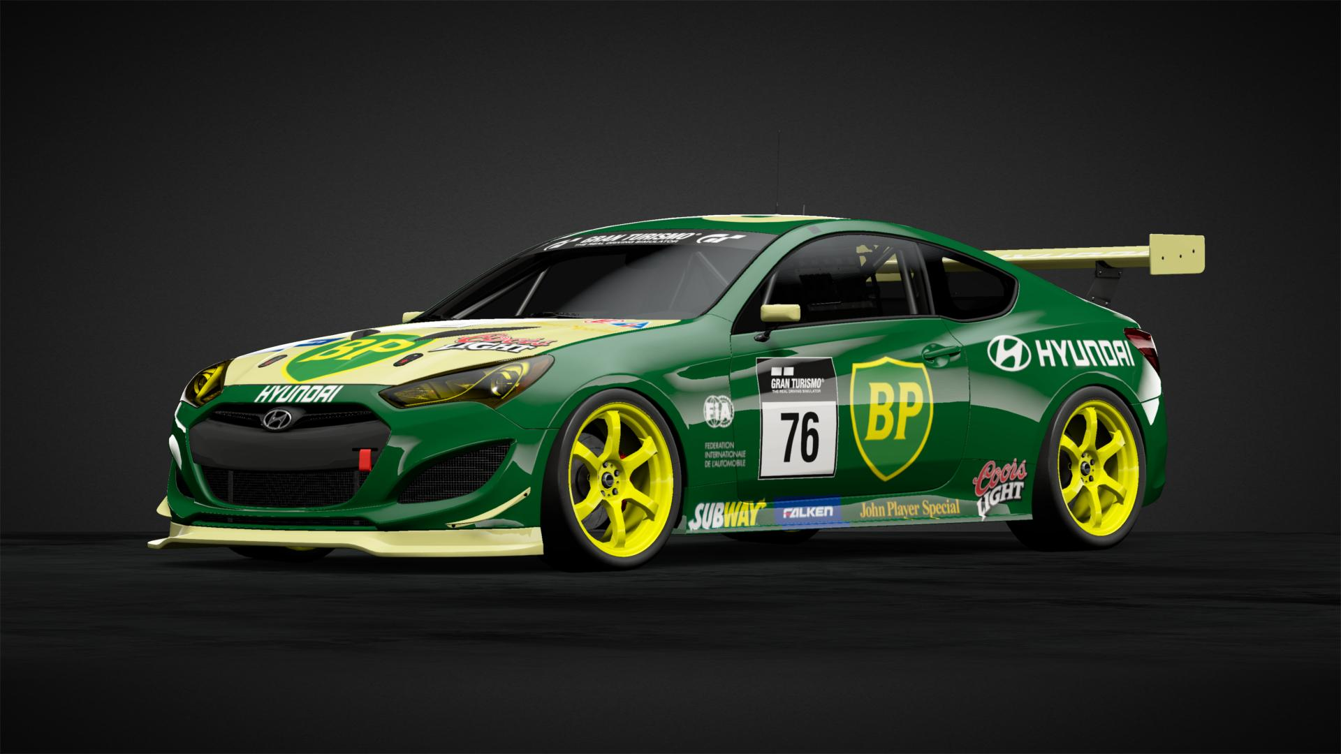 Hyundai BP Genesis Gr 4 19 Car Livery By Scottr 93