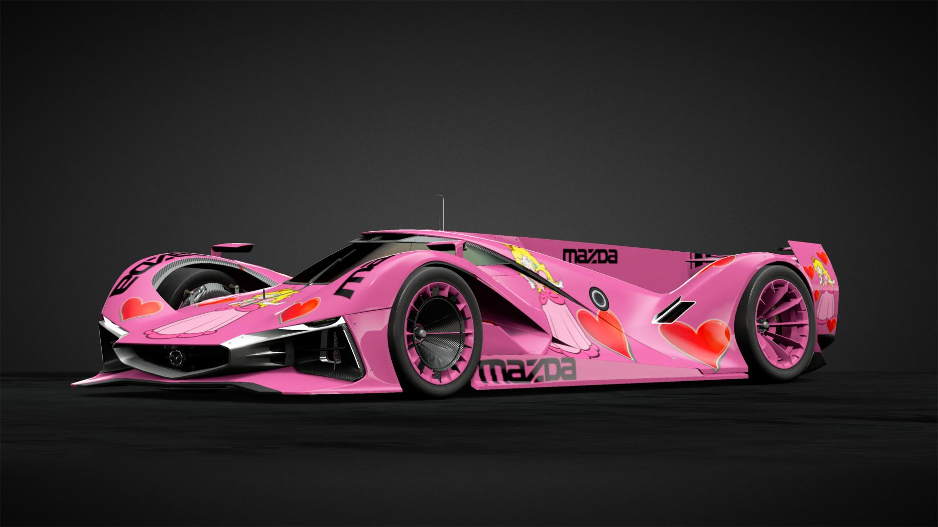 Princess Peach LM55 VGT Car Livery By Scottr 93