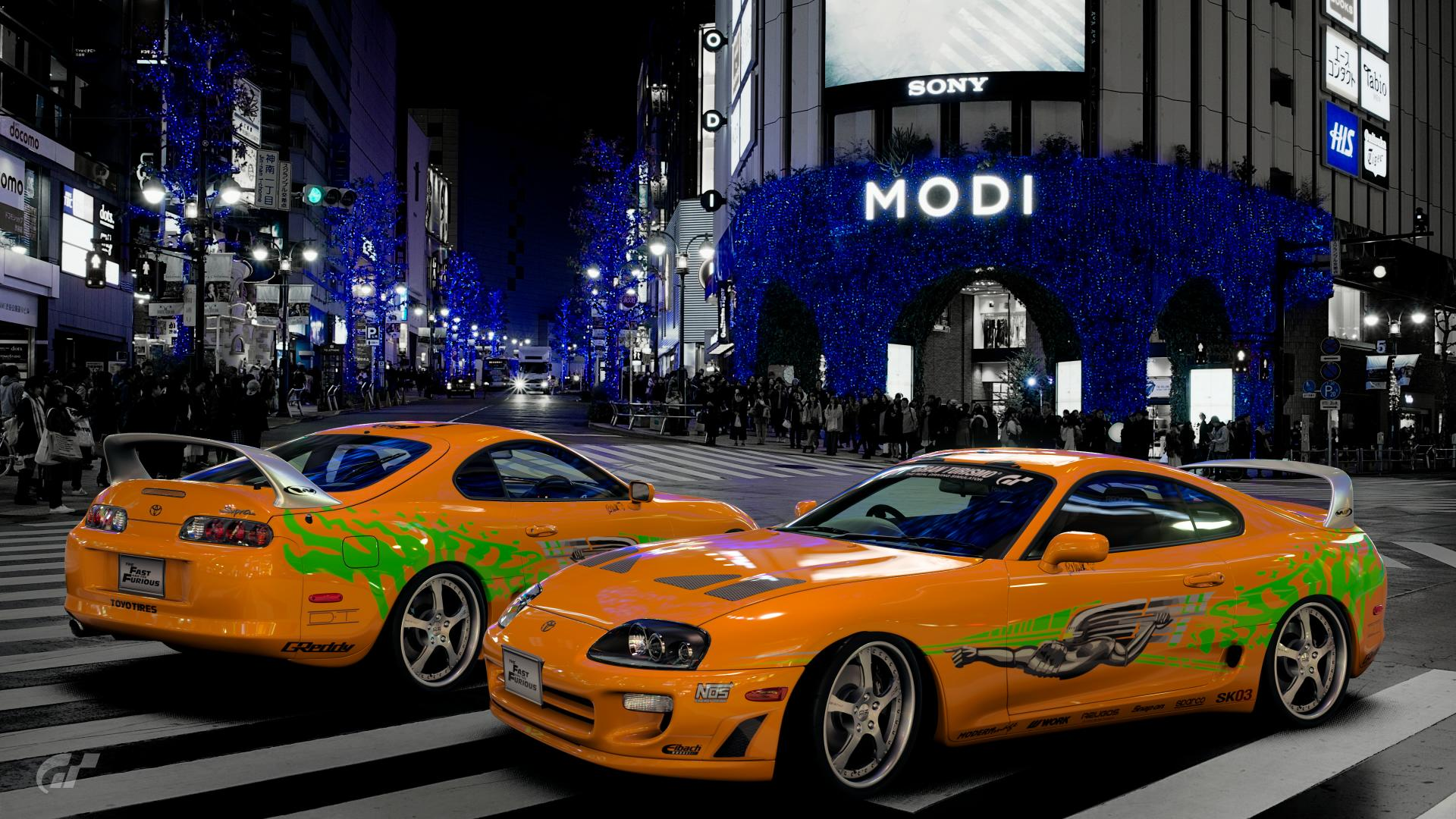 SK03 Fast Furious 1 Supra Scapes S By Sakooo3