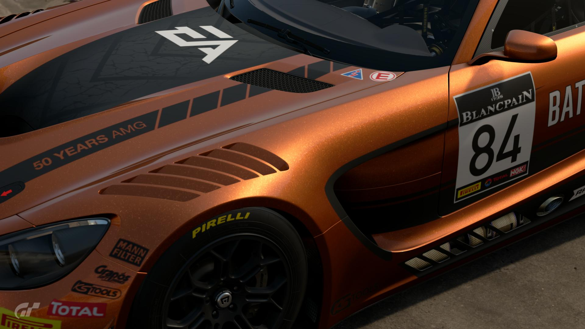 Mercedes-AMG GT Battlefield 1 - Scapes Photos by