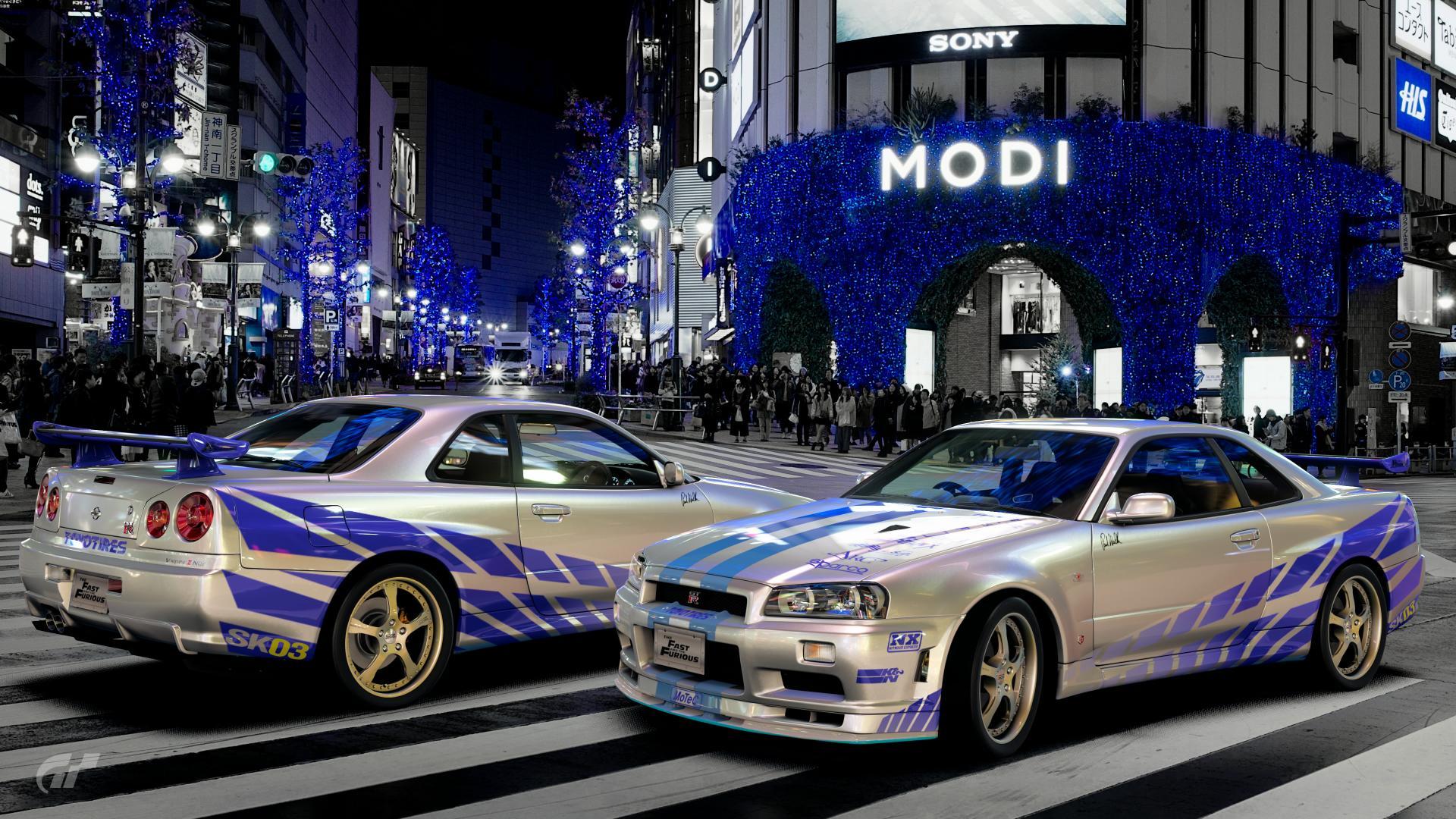 Skyline GT R VムSpec II Nür R34 Scapes S By Sakooo3