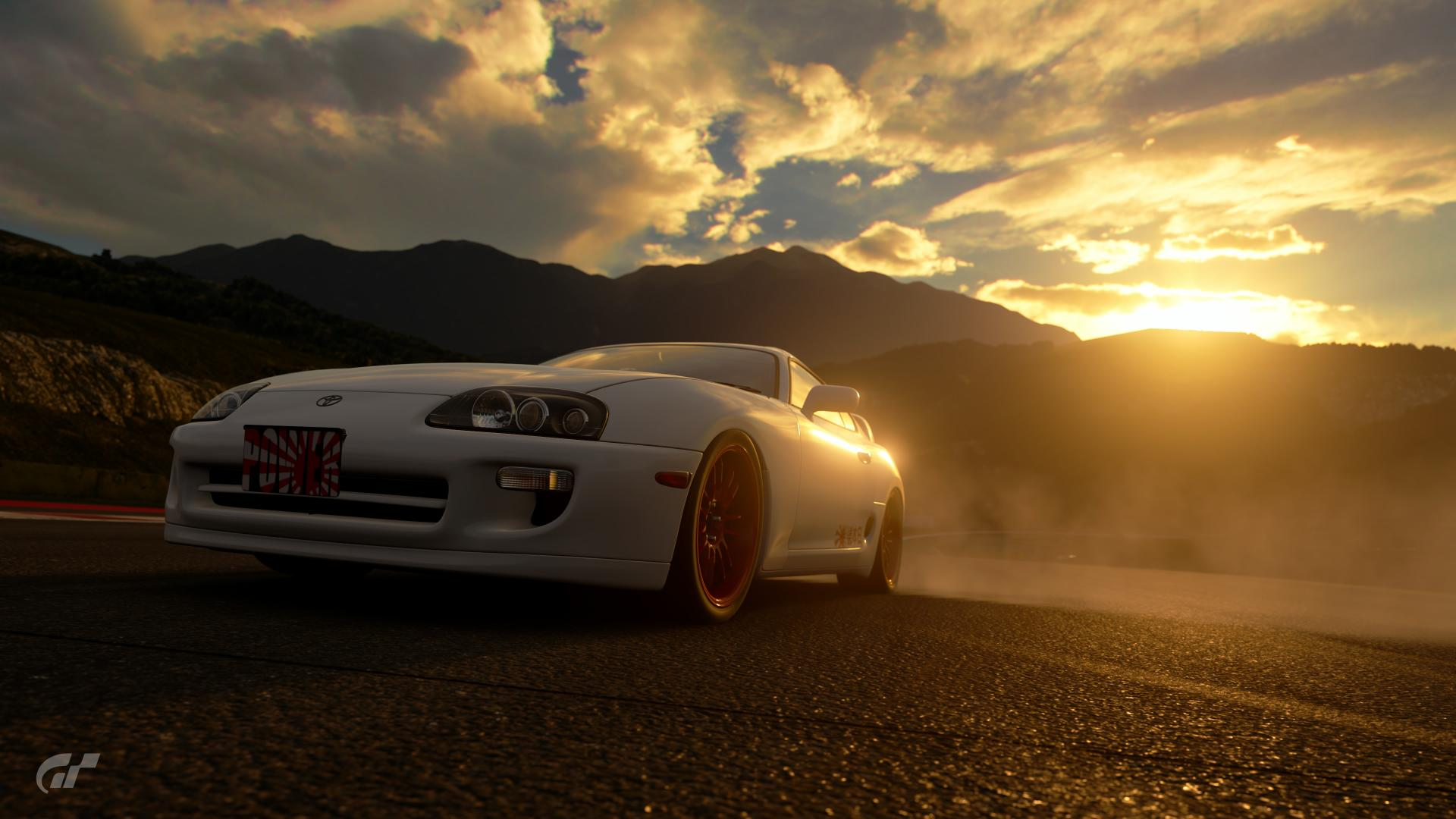 Supra doing Burnout - Race Photos by LuMa0191 | Community