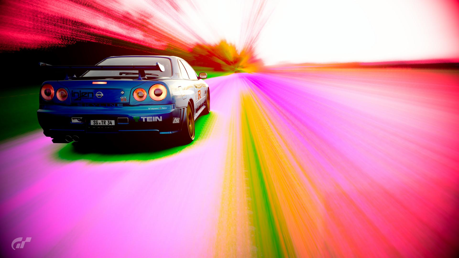 R34 GT R V spec II Nür 02 Scapes s by ShiverGTR34