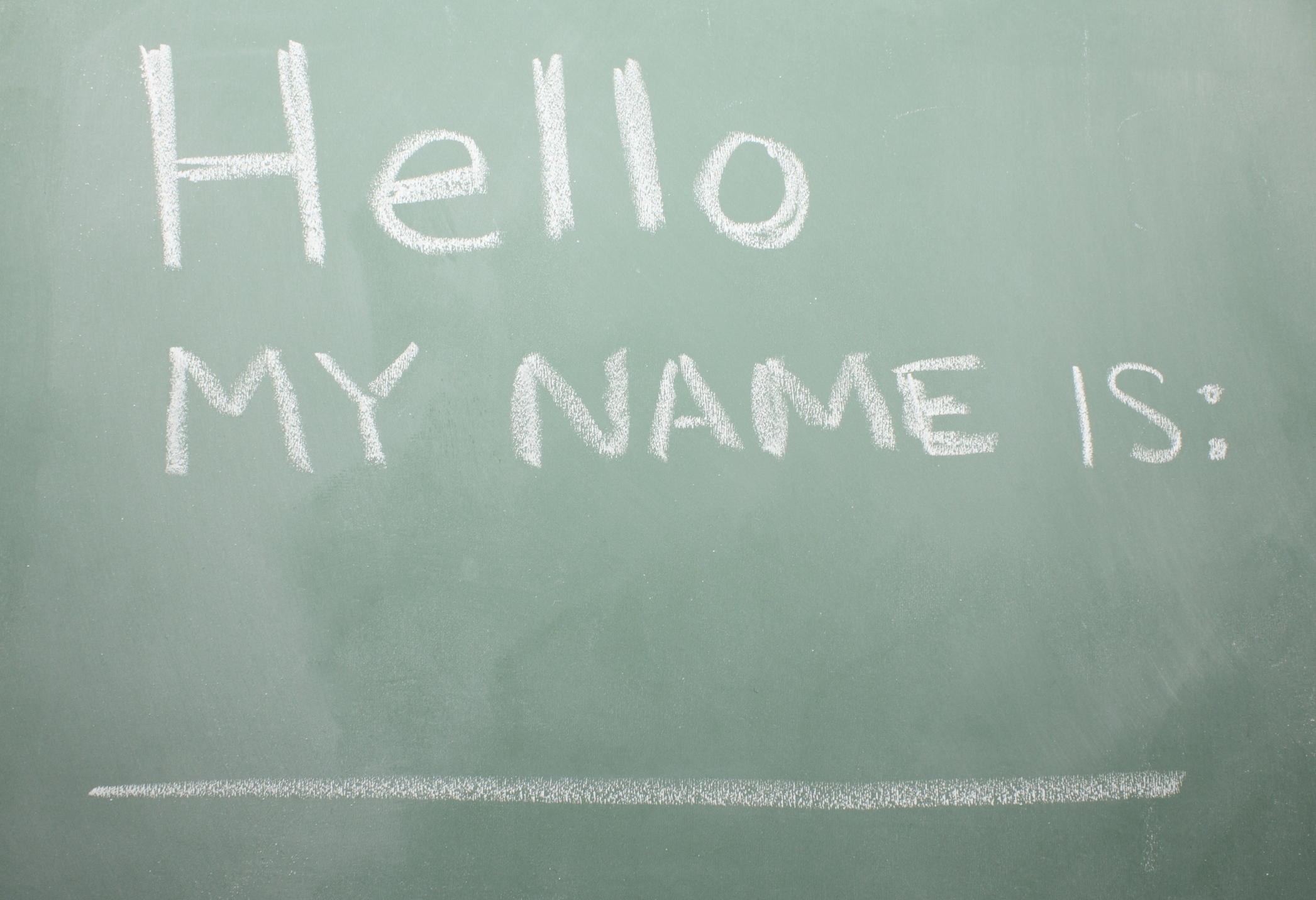 My Name Is Name: Five Extraordinary Facts About