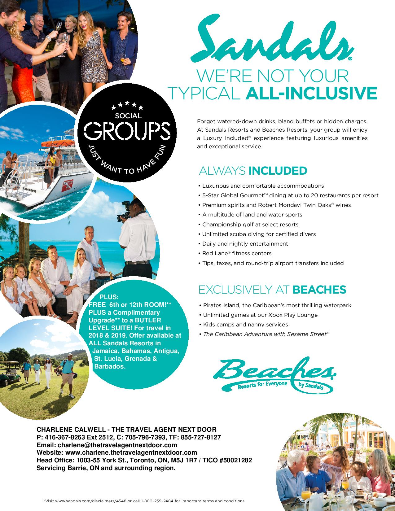 6ef9bd84b96be ... Sandals Resorts can provide. Our inspiring all-inclusive luxury  vacation group experiences combine deluxe facilities