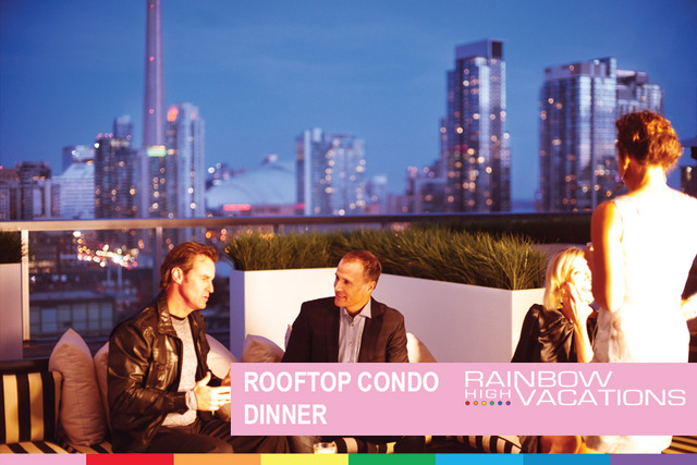WELCOME TO WORLDPRIDE ROOFTOP CONDO DINNER