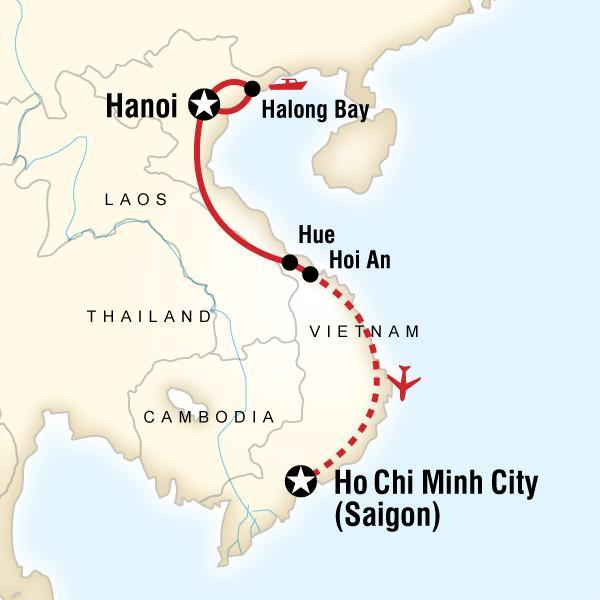 Classic Vietnam Hanoi to Ho Chi Minh City with G Adventures