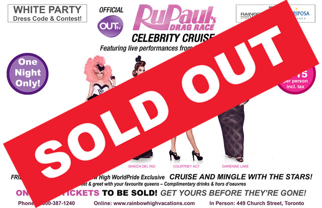 RuPaul's Drag Race Celebrity Cruise