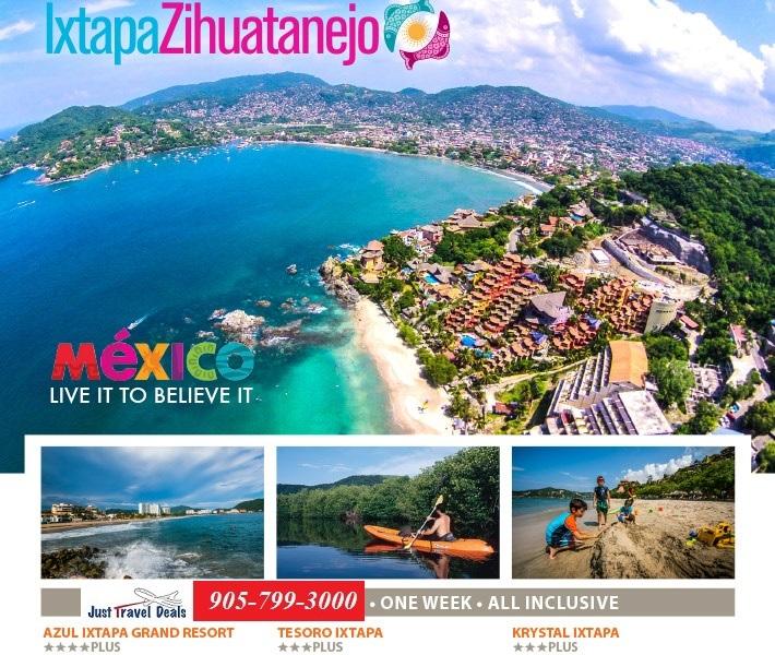 Ixtapa Zihuatanejo Mexico Vacations