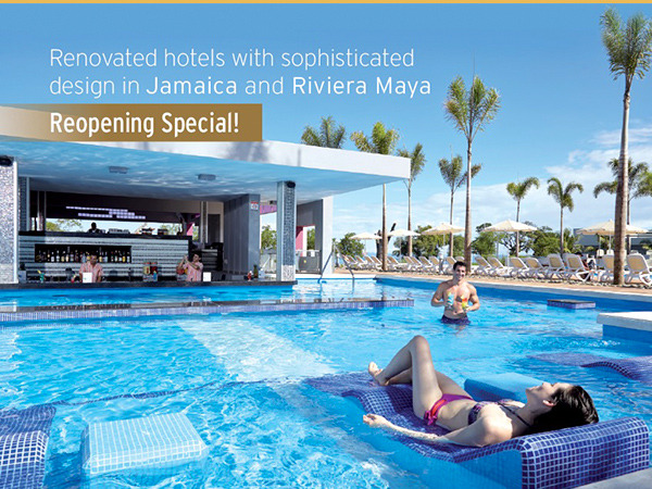 Reopening Specials For Riu Negril Jamaica And Riu Playacar