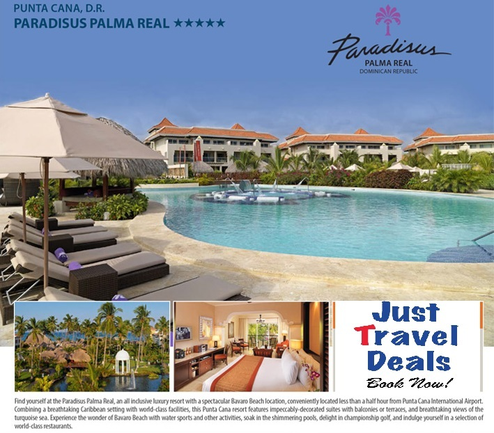 Five star all inclusive paradise at paradisus palma real for 5 star all inclusive mexico resorts