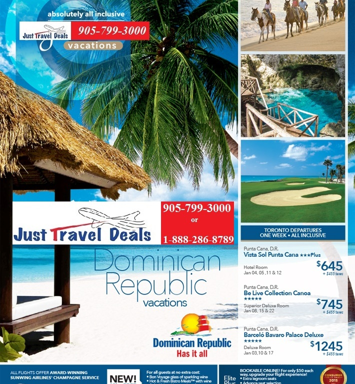 Vacations In Dominican Republic All Inclusive: Dominican Republic Vacation Deals From $645