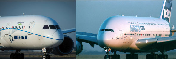 boeing and airbus strategy and vision