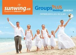 Groups Plus Weddings from Sunwings!