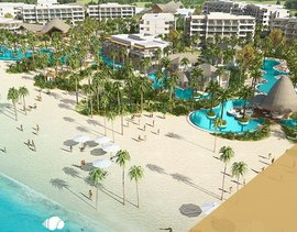 The exclusive Secrets Cap Cana Resort & Spa