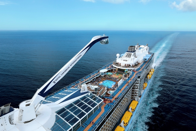 Escape Winter with RMC on Anthem of the Seas