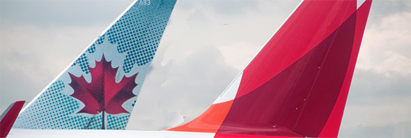 AIR CANADA PARTNERS WITH AVIANCA