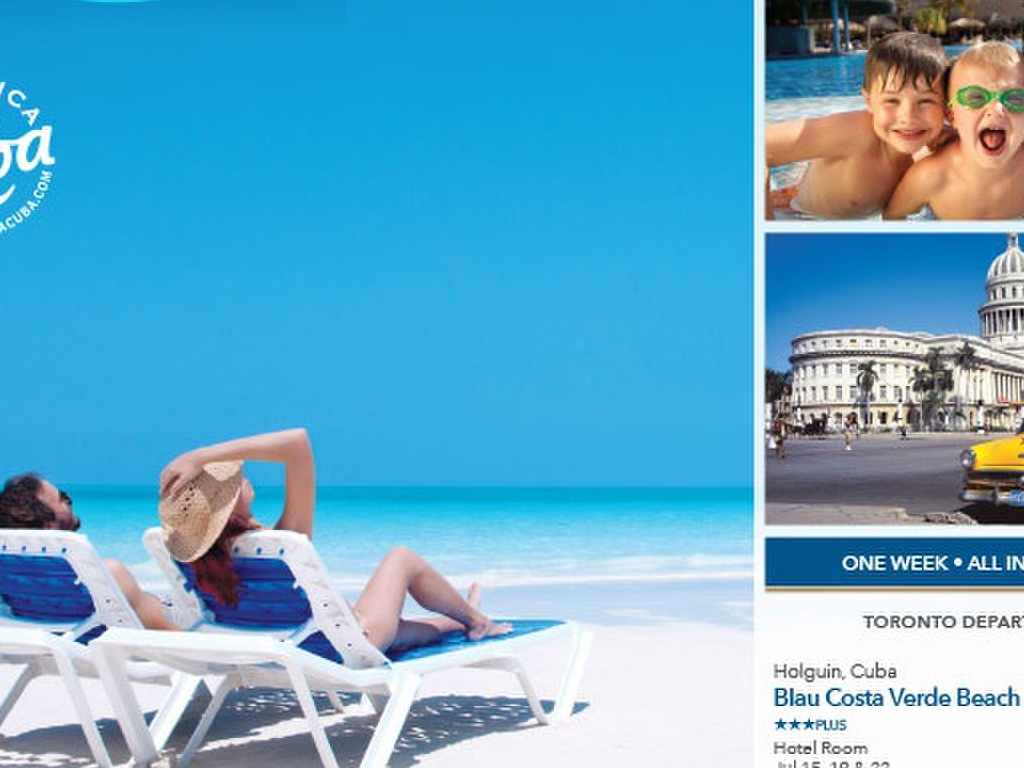 All Inclusive Sell Off Vacations To Cuba From 495