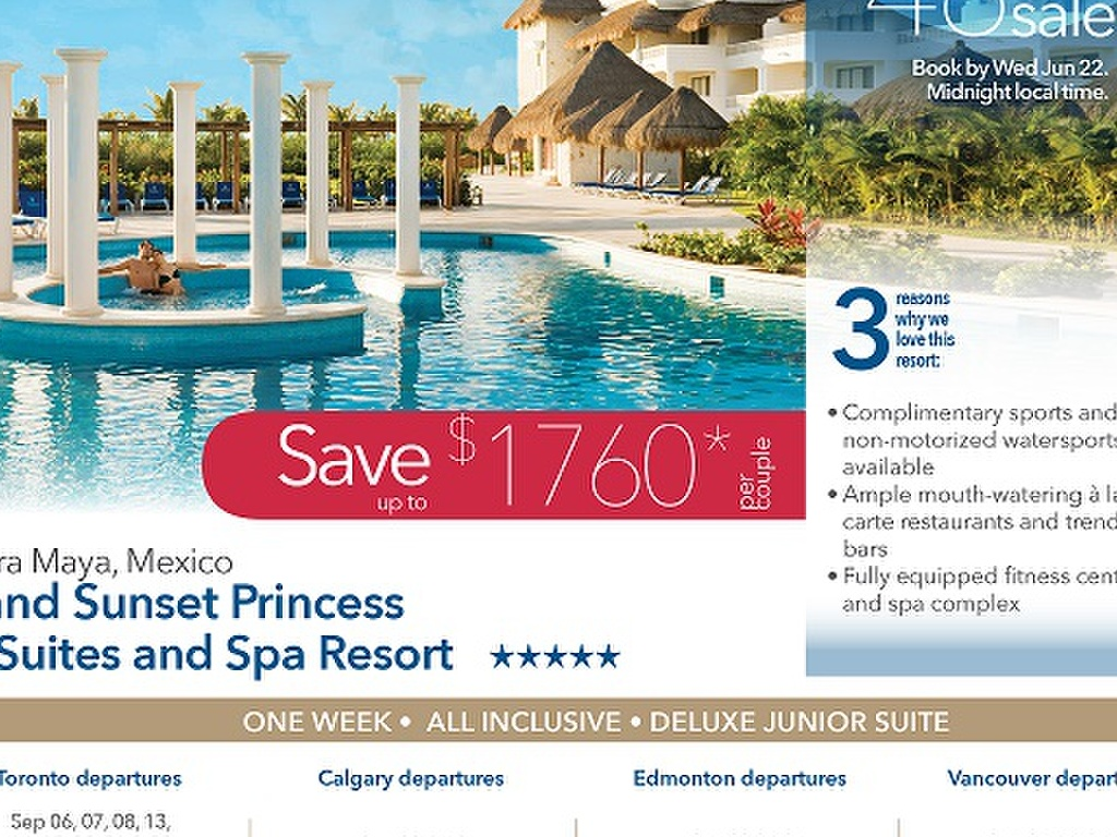 Grand Sunset Princess All Suites and Spa Resort Riviera