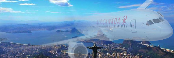 AIR CANADA OUT OF RIO  Suspends flights this fall
