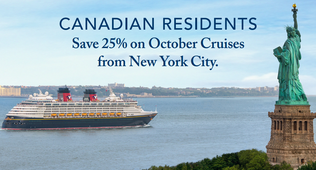 Disney Cruise Lines Canadian Promotion