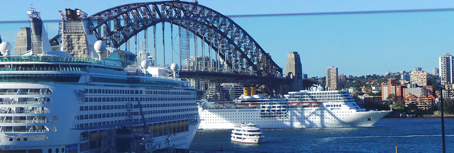 NO ROOM AT THE PORT Sydney will lose millions as cruise lines bypass Australian city