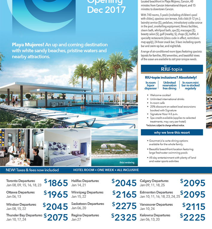 Introducing The NEW Riu Dunamar In Mexico Opening This