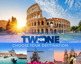 See More Of The World For Less: 2-for-1 with MSC Cruises