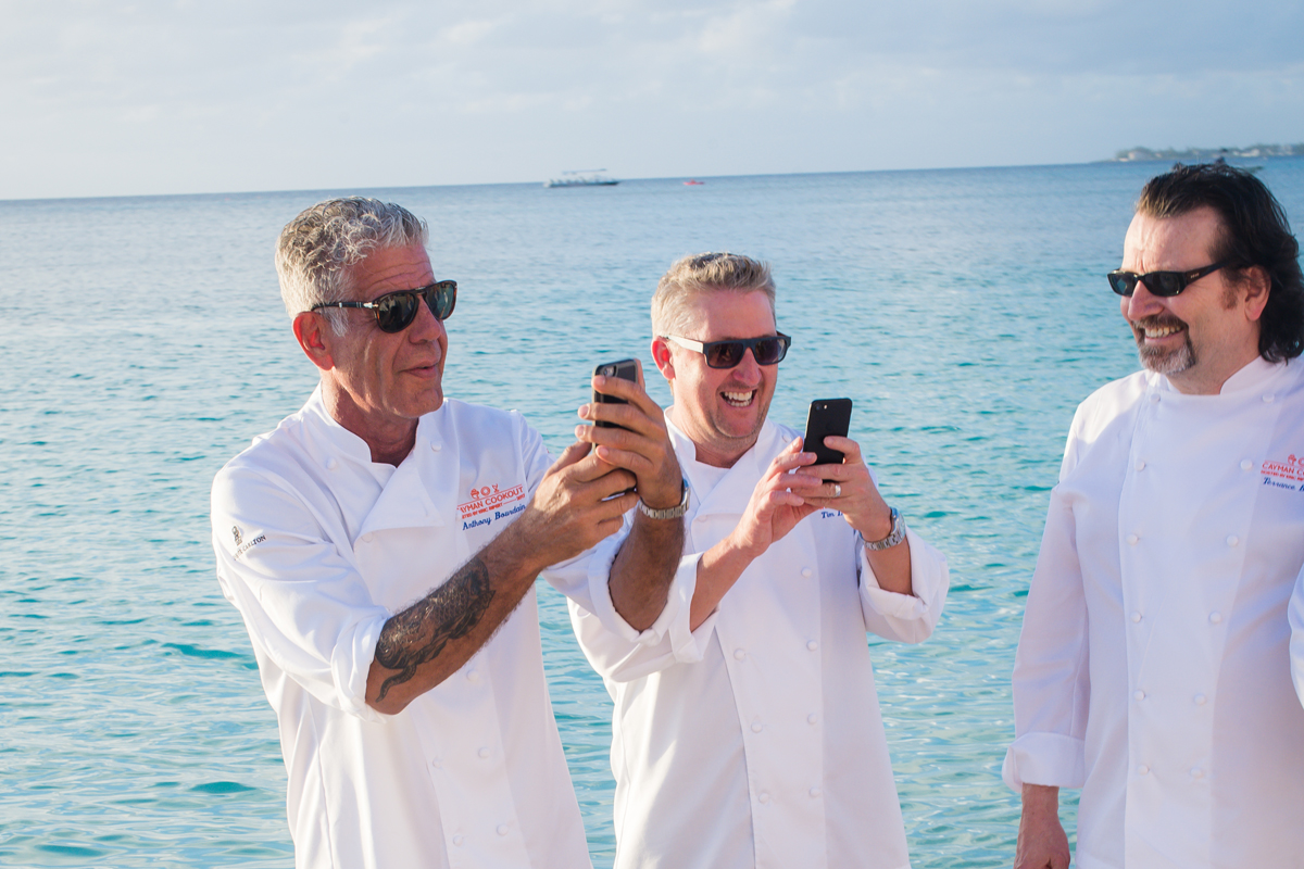 Meet Anthony Bourdain, Other Celebrity Chefs At Cayman Cookout