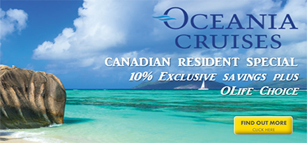 Oceania Cruises Home Ad