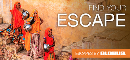 India Escape with Globus