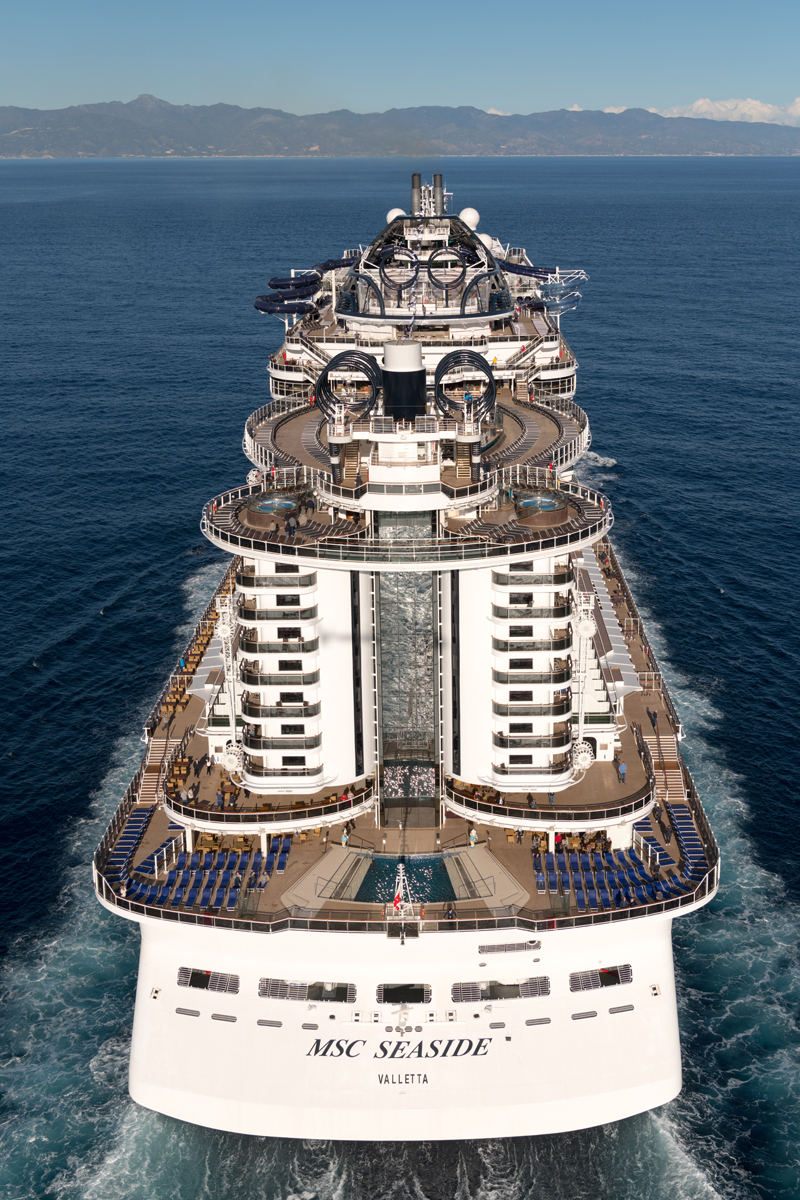 7 Reasons to Go To Sea on the New MSC Seaside