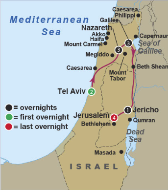 Israel: Once in a World on nazareth map, phoenicia map, capernaum map, jerusalem map, bible caesarea on a map, judea map, magdala map, qumran map, caesarea palaestina, azotus to caesarea map, mount of olives map, bethlehem map, chorazin map, antonia fortress map, philippi macedonia map, philippi bible map, colossae map, mt. tabor map, masada map, cyprus map, damascus map,