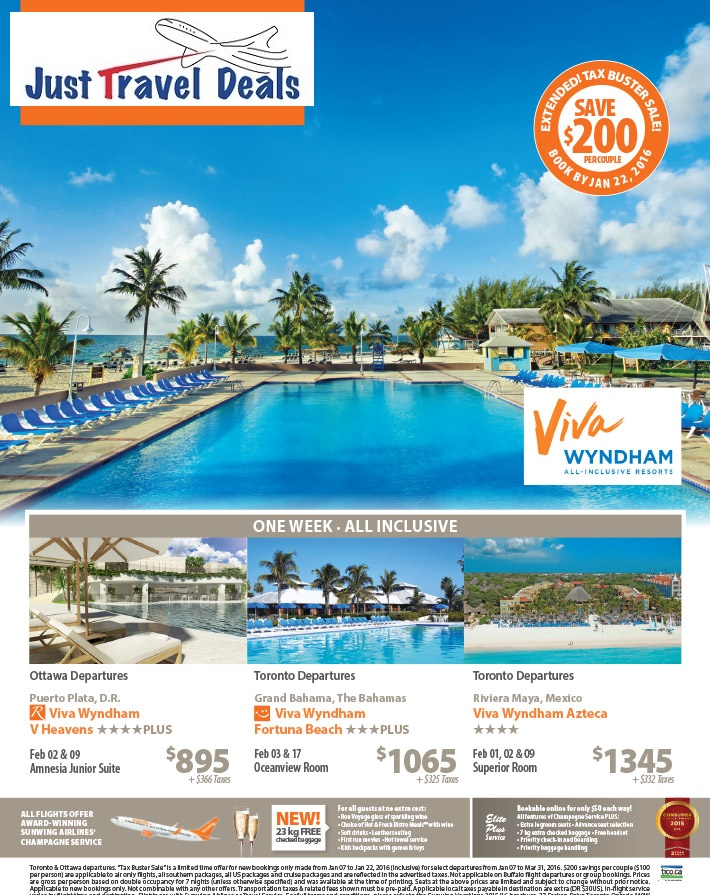 Experience Viva Wyndham All Inclusive Resorts Vacations
