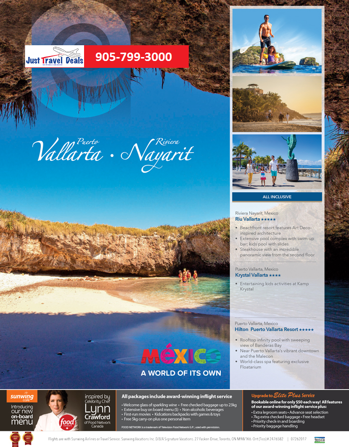All inclusive vacations mexico plus flight