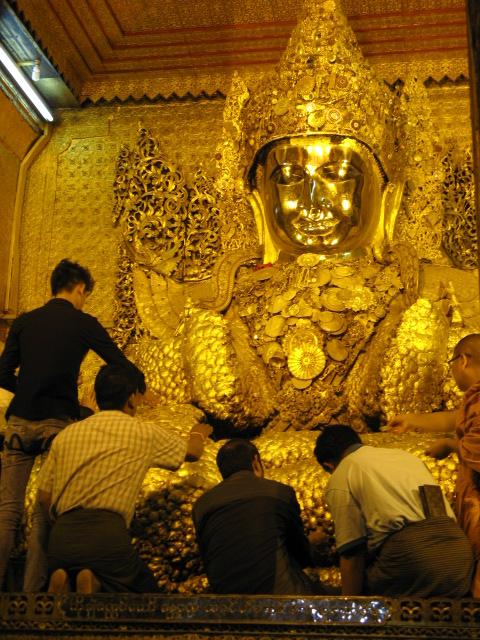temple gubyaukgyi myinkaba birmanie