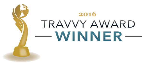 Travvy Award Winner 2016