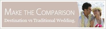 Destination Weddings vs Traditional Weddings