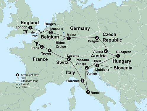 The Complete European Journey