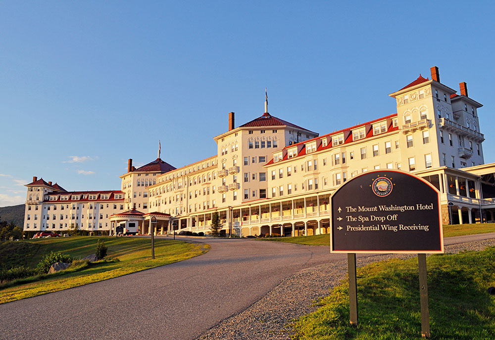 Historic Hotels of New England featuring The Equinox and Omni Mount Washington resorts
