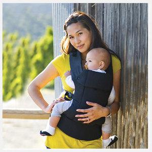 Beco gemini baby carrier in metr black
