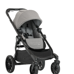 2008304 baby jogger city select lux single seat slate angle