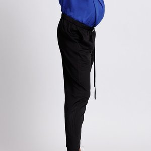 Jogger style trousers.black.preg.side.82 2 900x