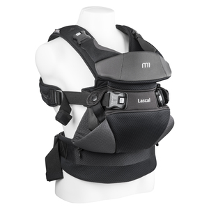 Lascal m1 carrier newborn baby carrier toddler carrier gray product %281%29