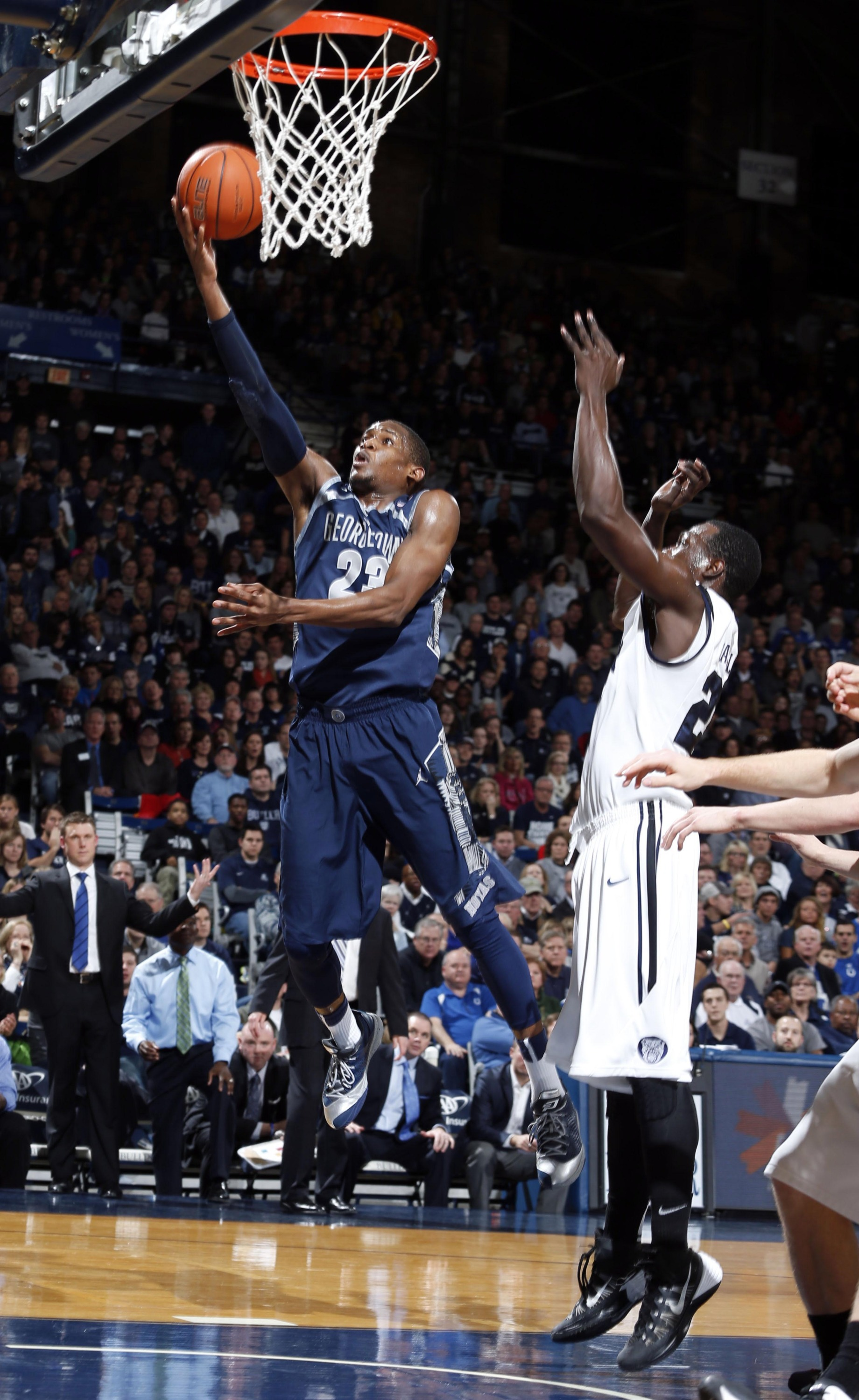 The Georgetown University men's basketball team closes out a three-game road trip on Wednesday, Jan. 15, visiting new BIG EAST Conference member Xavier for the first time.  Tip-off at the Cintas Center in Cincinnati is slated for 7 p.m.