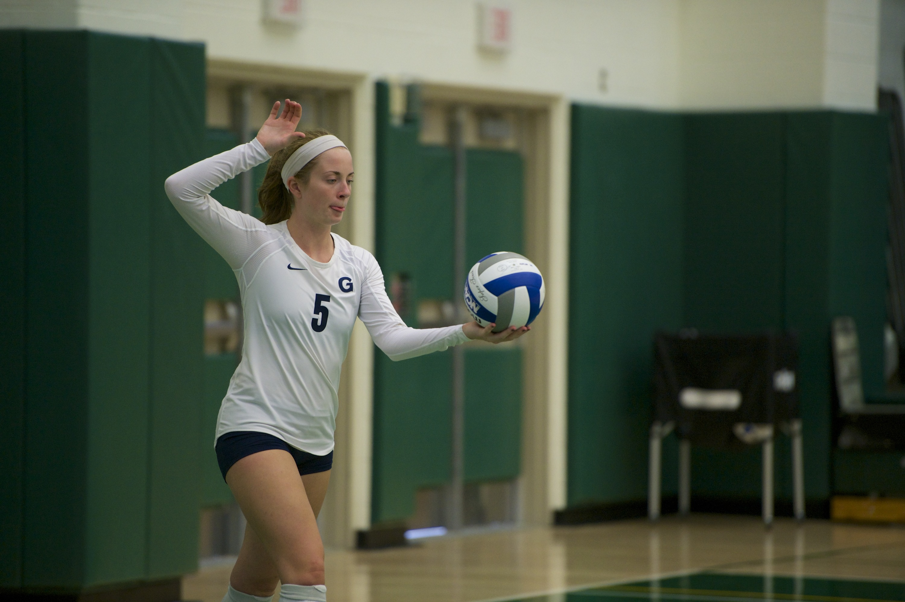 Casey Speer finished with 41 assists on Friday, an average of 13.67 assists per set.